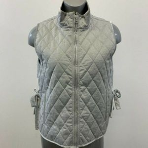 Banana Republic Quilted Vest Women's Large